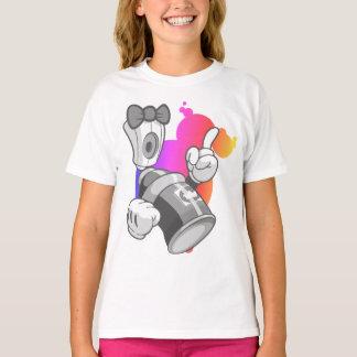 Grafites dos miúdos: Lata de pulverizador Camiseta