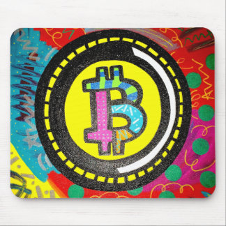 Grafites Mousepad de Bitcoin BTC