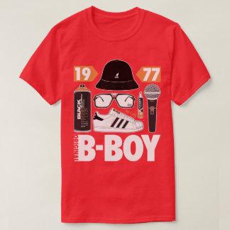 Grafites originais de MC DJ Hip Hop do B-Menino Camisetas