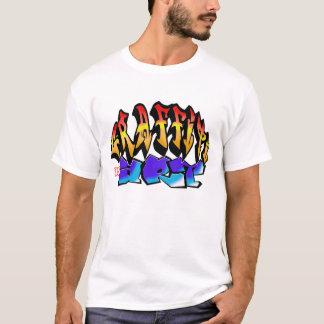 Grafitti Is espécie 1 Camiseta