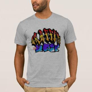 Grafitti Is espécie 2 Camiseta