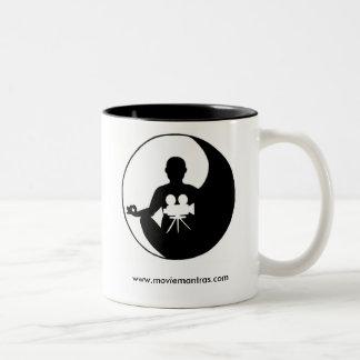 Grail da sabedoria caneca de café em dois tons