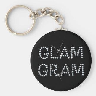 Grama Glam Chaveiro