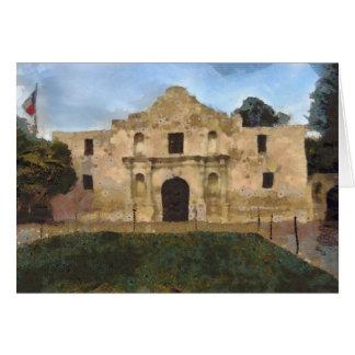 Gramado de Alamo Cartão Comemorativo