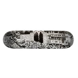 Gran Calavera Eléctrica Skate Boards