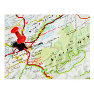 Granada, espanha cartão postal
