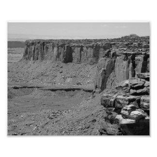 Grand Canyon 2 de B&W Impressão De Foto