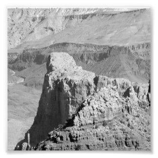 Grand Canyon 3 de B&W Impressão De Foto