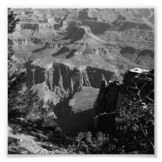 Grand Canyon 4 de B&W Impressão De Foto