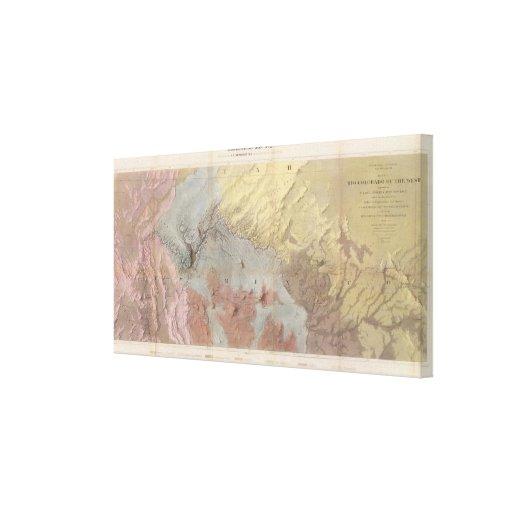 Grand Canyon da arizona Impressão De Canvas Envolvidas
