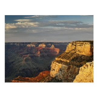 Grand Canyon da borda sul no por do sol, 3 Cartão Postal