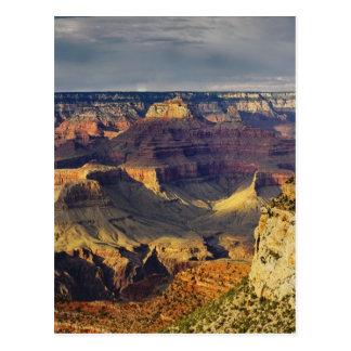 Grand Canyon da borda sul no por do sol, Cartão Postal