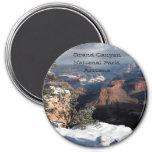 Grand Canyon no ímã do inverno Imas De Geladeira
