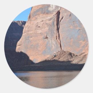 Grand Canyon sul o Rio Colorado da borda Adesivo