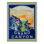 Grand Canyon - viagens vintage Cartão Postal
