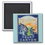 Grand Canyon - viagens vintage Imã De Refrigerador