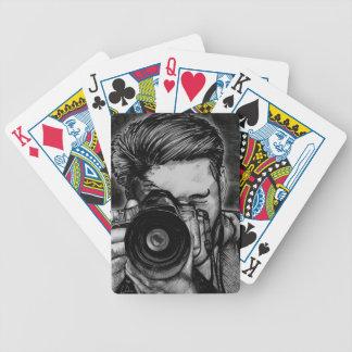 Grande ângulo lente baralhos de cartas