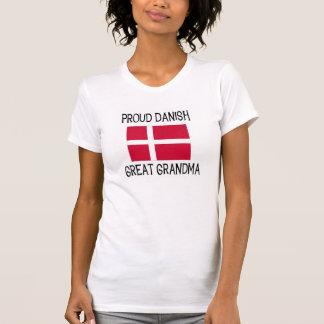Grande avó dinamarquesa orgulhosa camisetas