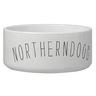 Grande bacia cerâmica do cão tijela para comida de cachorros