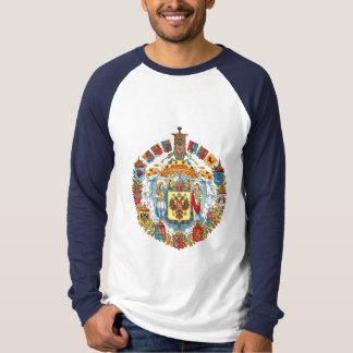 Grande Brasão Imperial da Rússia Camiseta