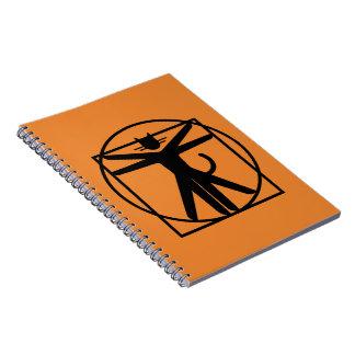 grande caderno felino