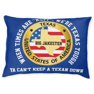 Grande cama Texas do travesseiro do cão resistente