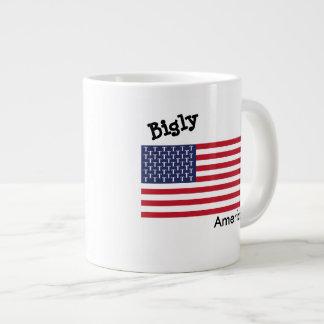 Grande caneca de Bigly América