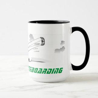 Grande caneca de café - Kitesurfing