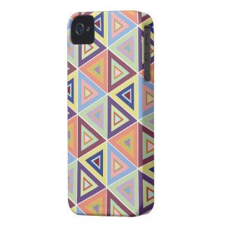 grande capa de iphone 4 triangular do azulejo do
