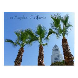 Grande cartão da câmara municipal de Los Angeles!