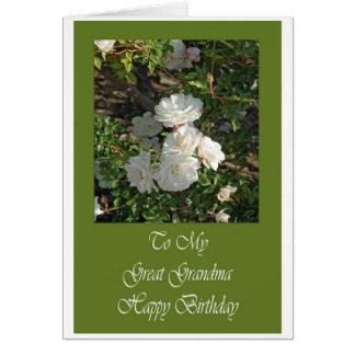 Grande cartão de aniversário da avó