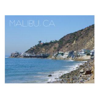 Grande cartão de Malibu!