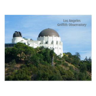 Grande cartão do obervatório de Griffith do LA!