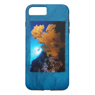 Grande caso do iPhone 7 do recife de coral Capa iPhone 7 Plus