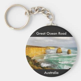 Grande chaveiro de Austrália da estrada do oceano