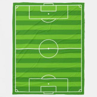 Grande cobertura do velo do campo de futebol/passo cobertor de velo