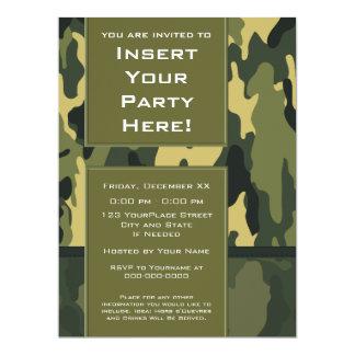 Grande convite de festas: As forças armadas verdes