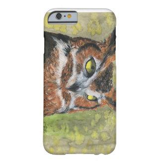Grande coruja Horned Capa Barely There Para iPhone 6