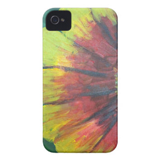 Grande design brilhante da flor capa para iPhone 4 Case-Mate