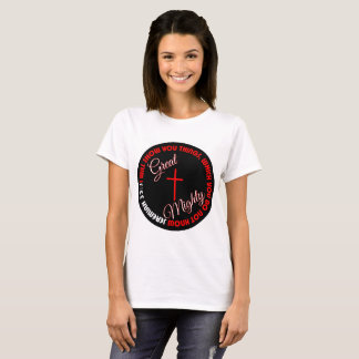Grande e t-shirt poderoso camiseta