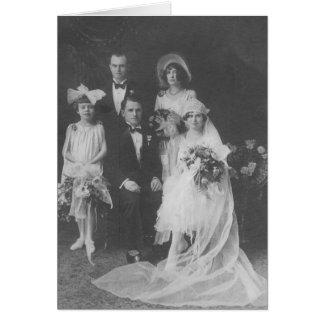 Grande excelente - avós que wedding cartão comemorativo