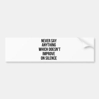 Grande frase simples legal de tao da filosofia da adesivo para carro