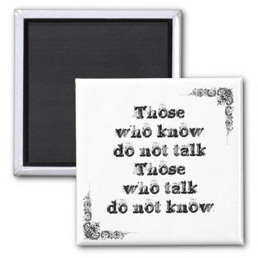 Grande frase simples legal de tao da filosofia da  ima de geladeira