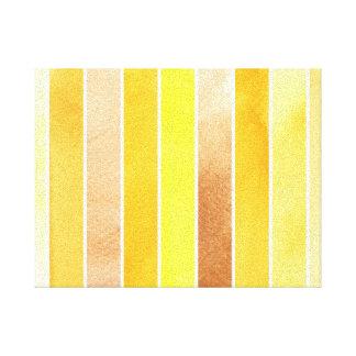 grande fundo amarelo da aguarela - aguarela impressão em tela