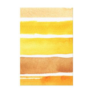 grande fundo da aguarela - pinturas da aguarela impressão em tela