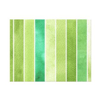 grande fundo verde da aguarela - aguarela impressão em tela