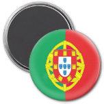 Grande ímã de 3 polegadas - bandeira de Portugal Ima