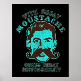 Grande impressão do Moustache