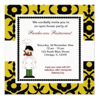 Grande inauguração convites