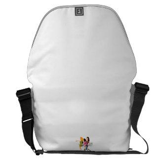 Grande Messenger Bag Impressão externo Bolsa Mensageiro